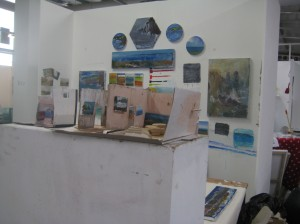 View with Cardboard Gallery