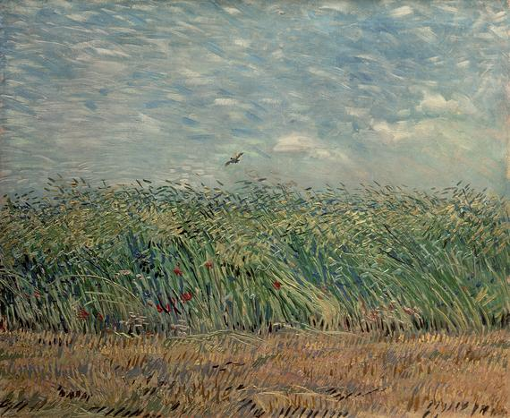 Wheatfield with Lark (1887)